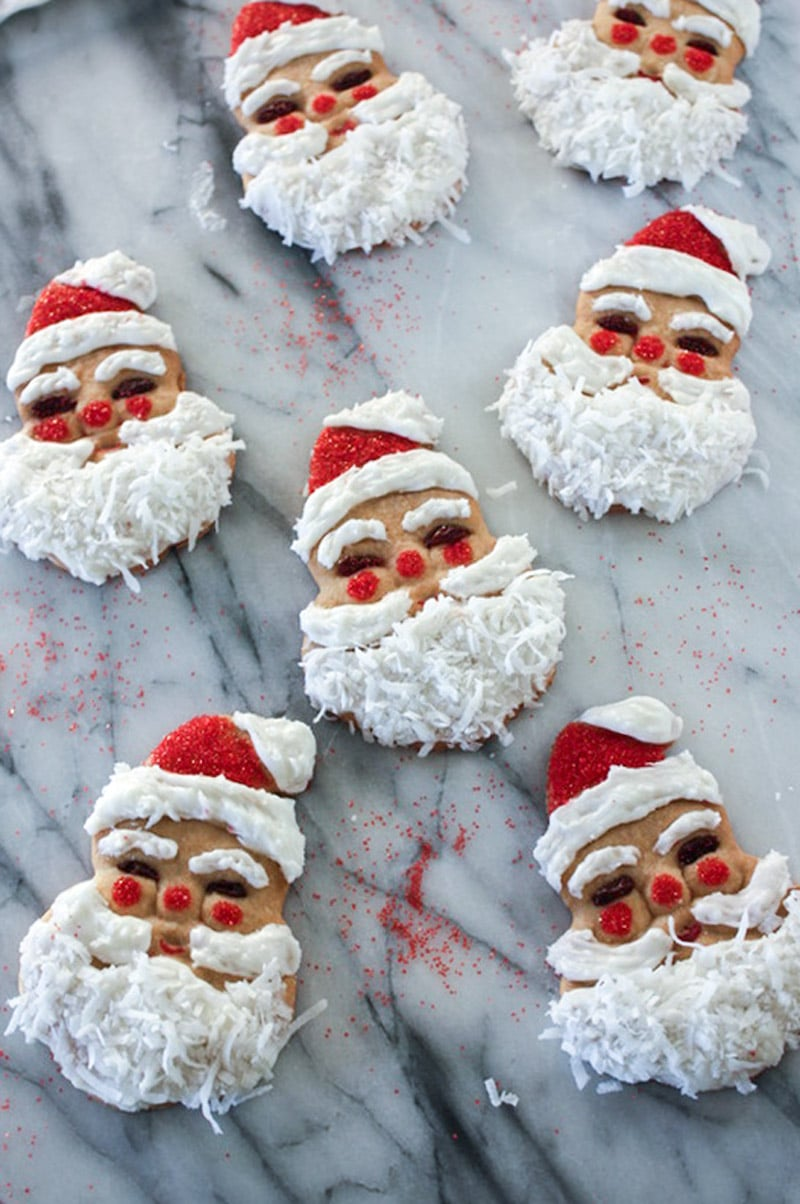Santa Claus Cut - Out Cookies - Binky's Culinary Carnival