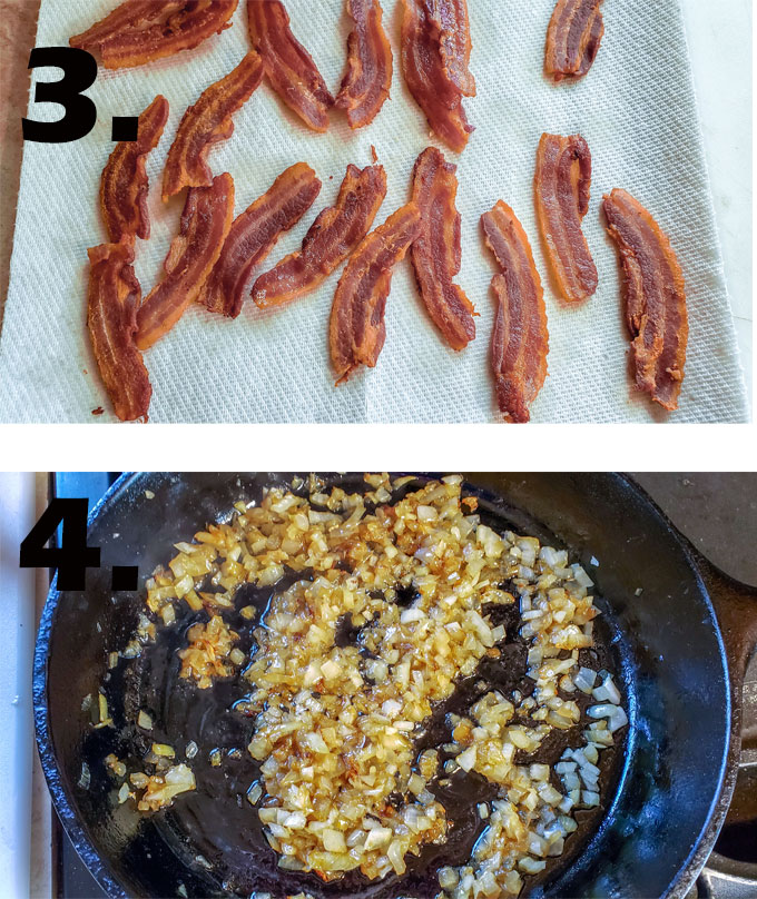 process photographs baked beans recipe2