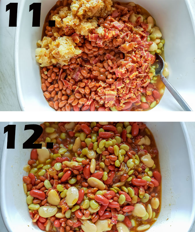 process photographs baked beans recipe6
