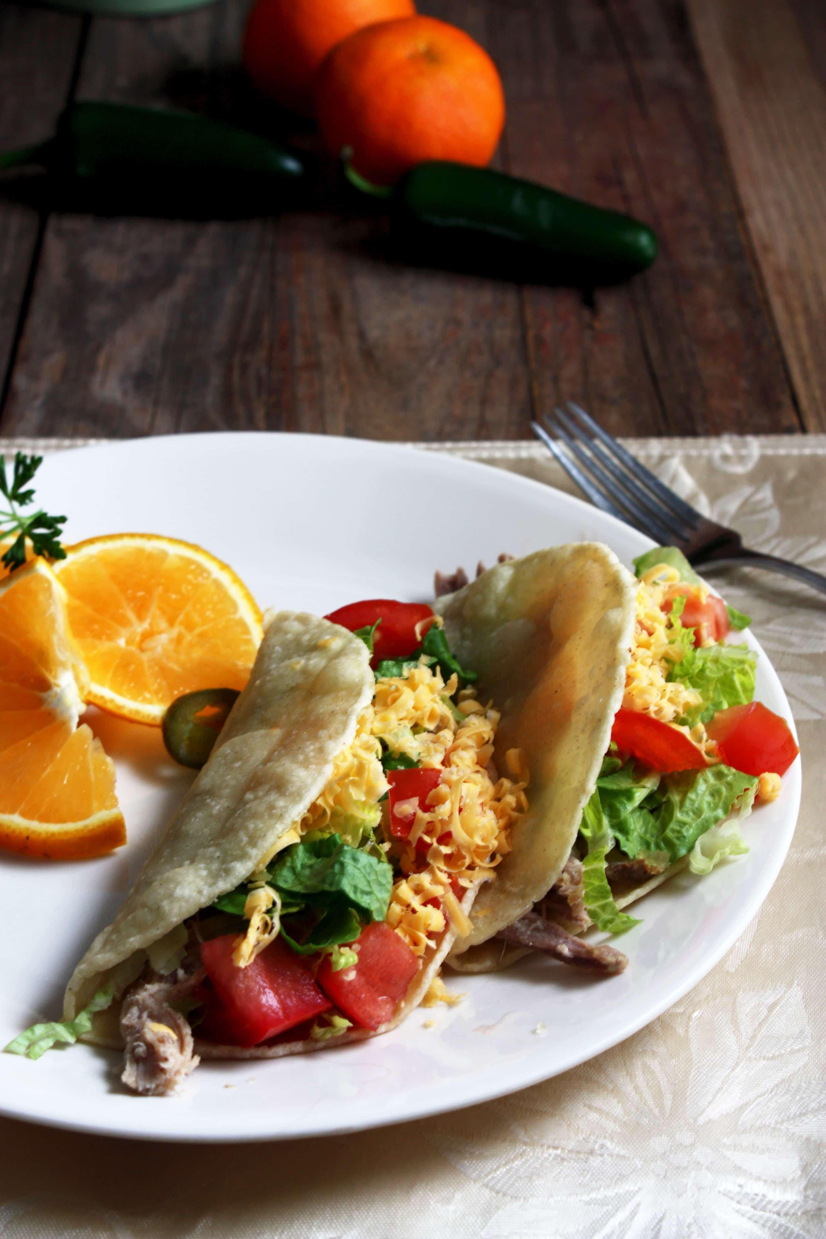 Pork Carnitas Tacos - Binky's Culinary Carnival