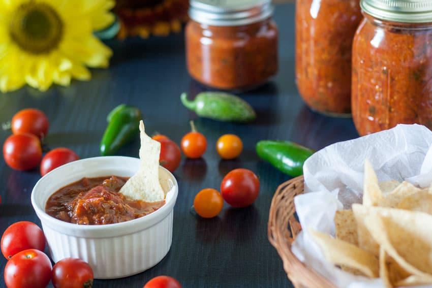 chipotle salsa recipe with corn chips
