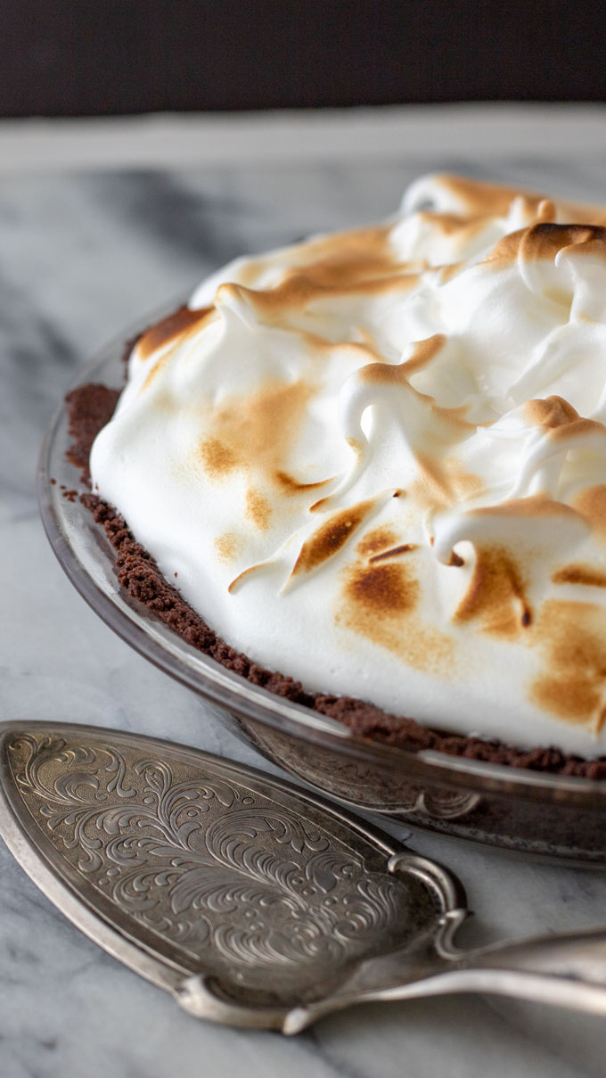 Gluten free lemon meringue pie.