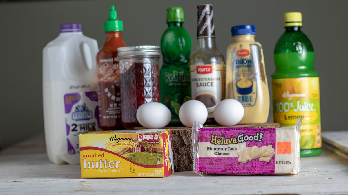 Refrigerated items to store in your pantry.