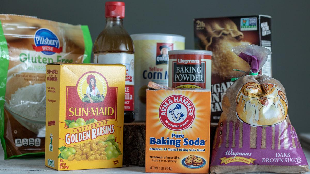 Baking supplies.