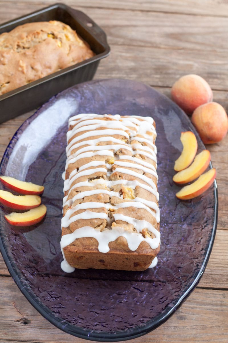 Silk® Peach Pecan Quick Bread 7