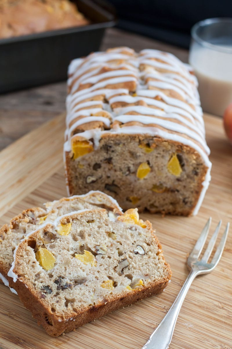 Silk® Peach Pecan Quick Bread
