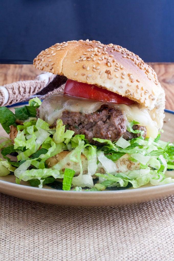 Venison Burger Cooking Great Deer Burgers
