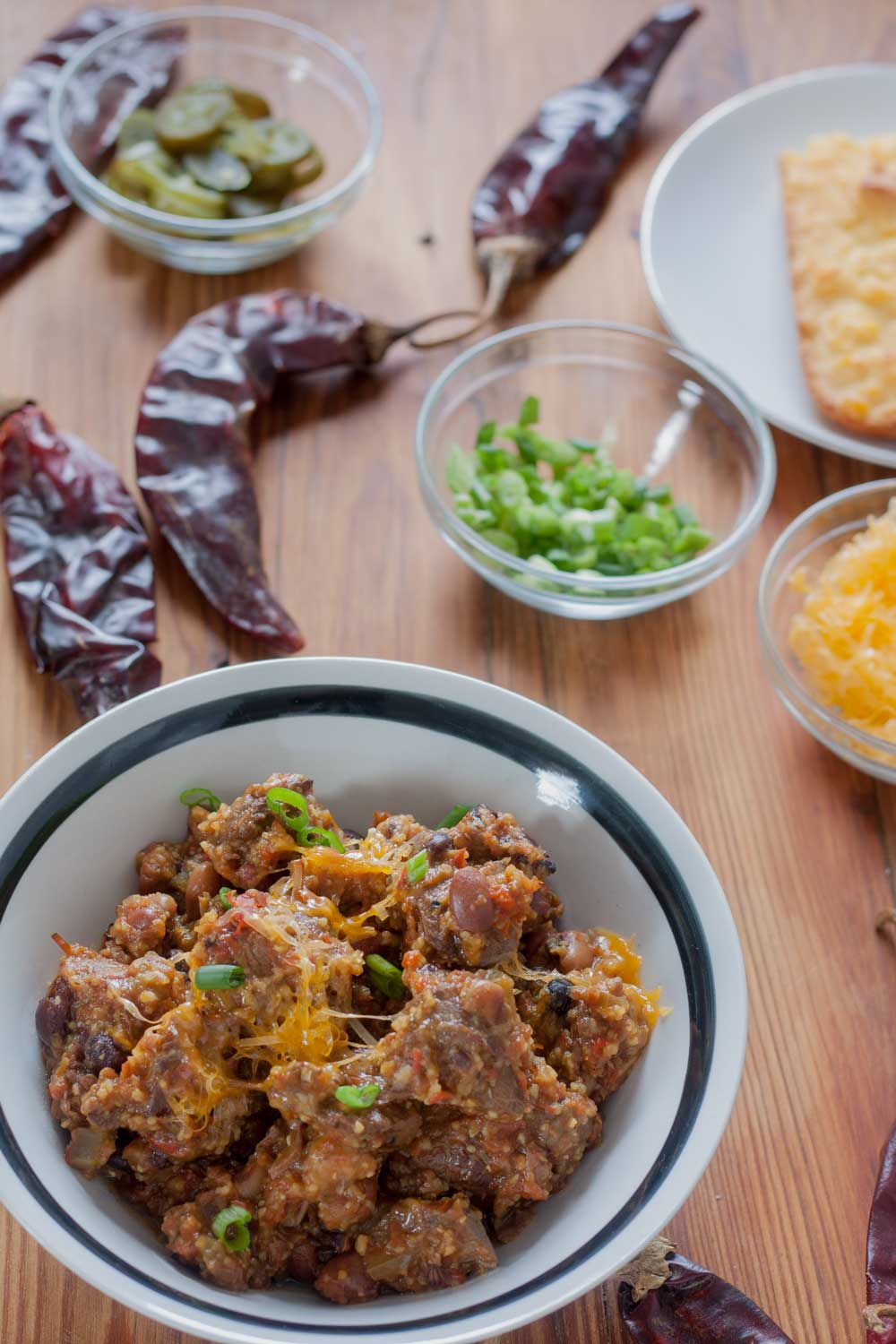 Chunky Venison Chili Slow Cooker Version Binky S Culinary Carnival