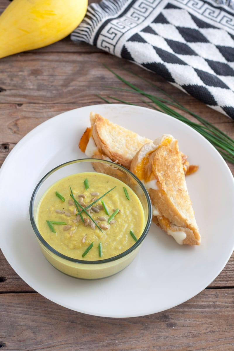 Curried Yellow Squash Soup2