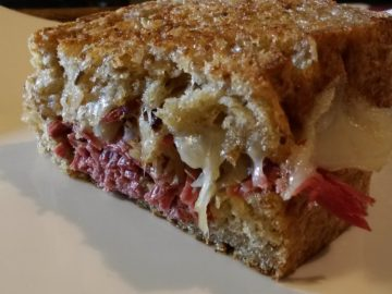 Homemade Reuben Sandwiches on YouTube