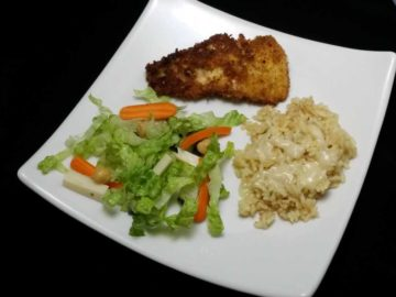 Gluten Free Crusted Pike Fillets