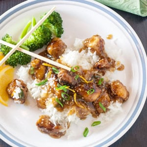 This Sesame Chicken Recipe is so easy to make at home! You control the ingredients in your favorite Chinese dish!