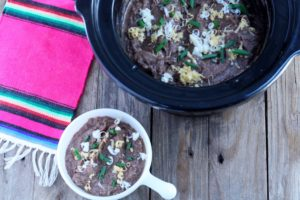 Slow Cooker Frijoles Refritos (Refried Beans) with a Mexican Round-up For Cinco de Mayo