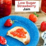 strawberry jam Pinterest image