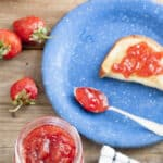 Low Sugar Strawberry Jam – Easily Made Sugar Free!