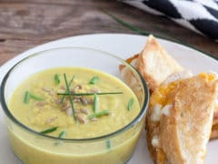 Curried Yellow Squash Soup
