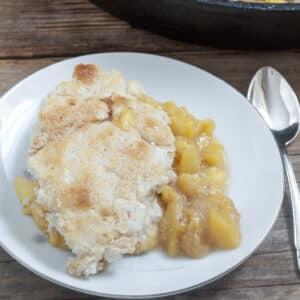 Southern Peach Cobbler #foodbloggers4FL
