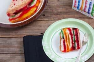 Rainbow Cake, My Birthday Cake!