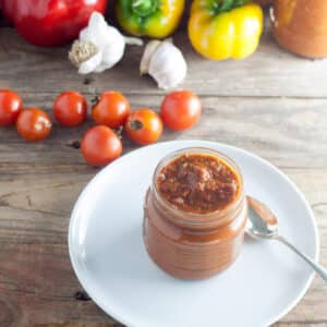 How to Can Salsa with Roasted Garlic