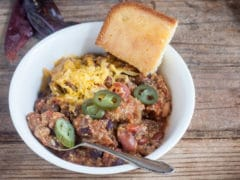 Triple delight chili