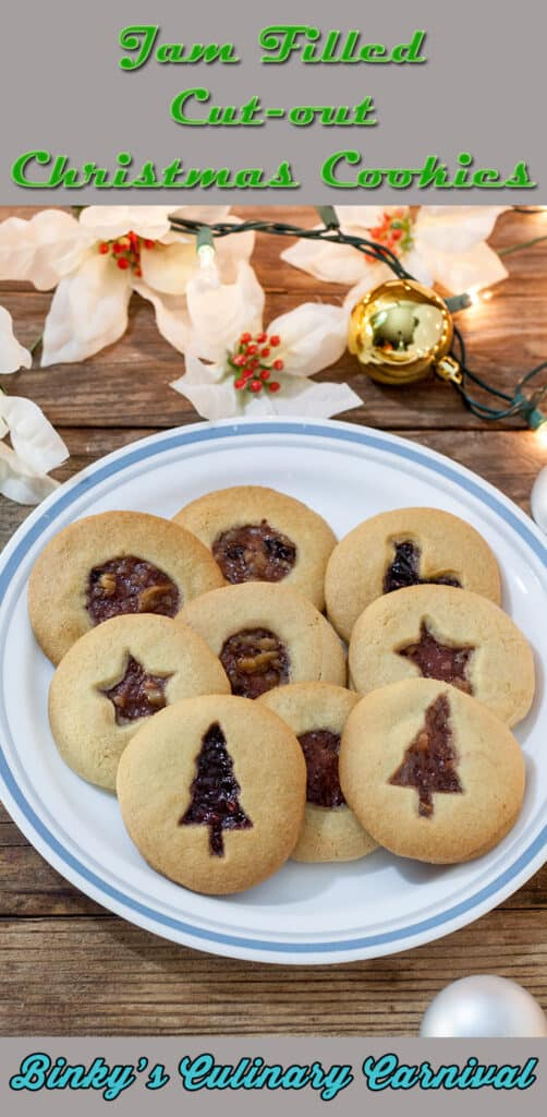 Jam Filled Cookies Pinterest Image