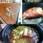 split pea soup pinterest collage