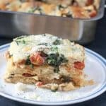 Chicken Lasagna with Spinach