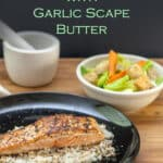 salmon with garlic butter pin