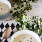 asparagus soup pinterest image