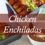 chicken enchilada pinterest image