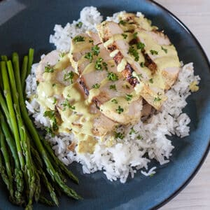 grilled chicken breast recipe with lime coconut curry