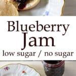 Blueberry Jam Pinterest image