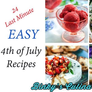 Easy, Last Minute 4th of July Recipes!
