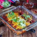 Venison Enchiladas – Carnitas Style