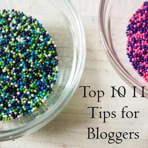 My 10 Top Tips for New Food Bloggers!