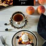 Blackberry Peach Gallettte Pinterest image