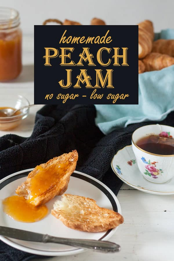 Peach jam Pinterest image