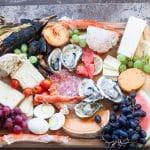 Charcuterie Platter with Seafood for Glamping