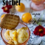 Plum Sorbet Pinterest image with text overlay.