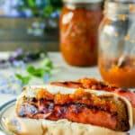 Hot pepper relish Pinterest image