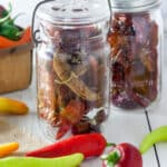 Dried Peppers – 4 easy methods