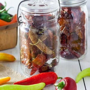 5 Easy Way to Make Dried Peppers