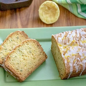 Lemon Zucchini Bread is a perfect snack or breakfast any time of the year!