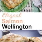 salmon Wellington Pinterest image