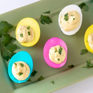 Amazing Easter Deviled Eggs