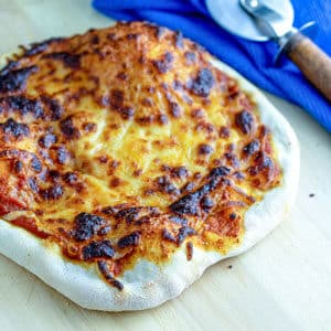 sourdough pizza crust cheese pizza