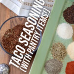 taco seasoning Pinterest image