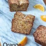 Orange Pineapple Bread Pinterest image