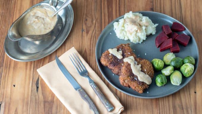 Chicken fried venison social media image