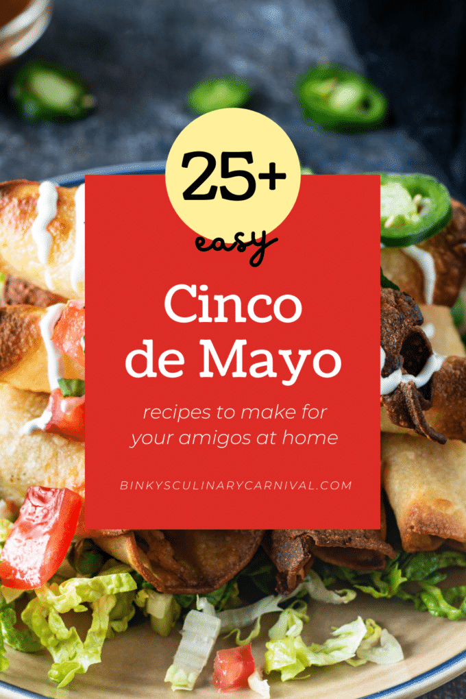 Cinco de Mayo Pinterest image with text overlay.